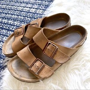 Birkenstock's Arizona two straps buckle sandal
